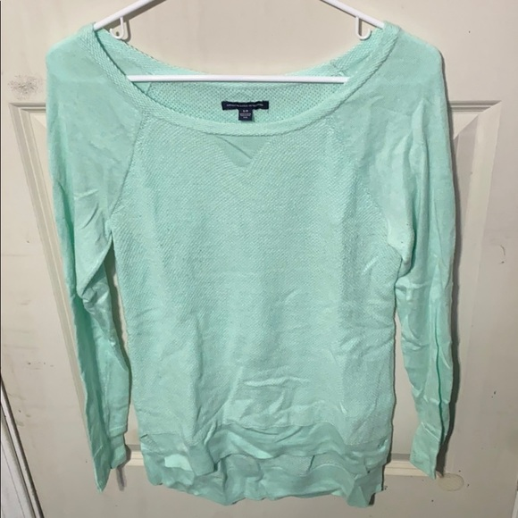 Mint AE Sweater